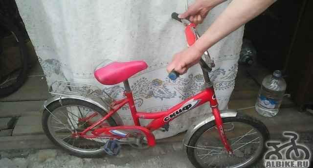 Подростковый велосипед скиф