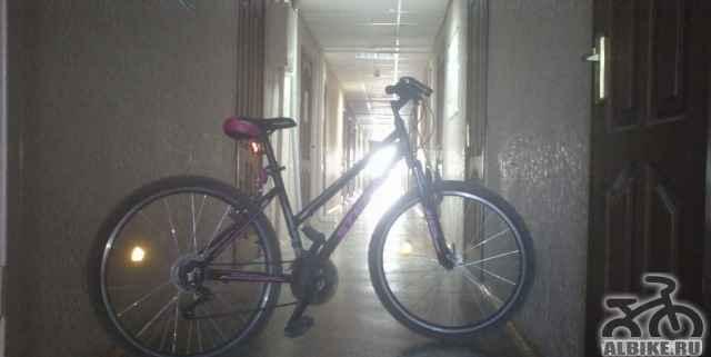 Велосипед в нормальном состоянии
