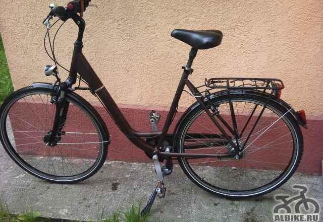 Немецкий велосипед в идеальном состоянии