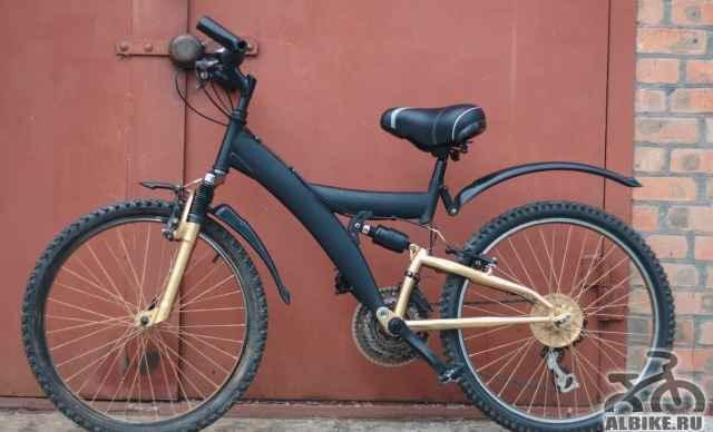 Велосипед Черный Скоростной