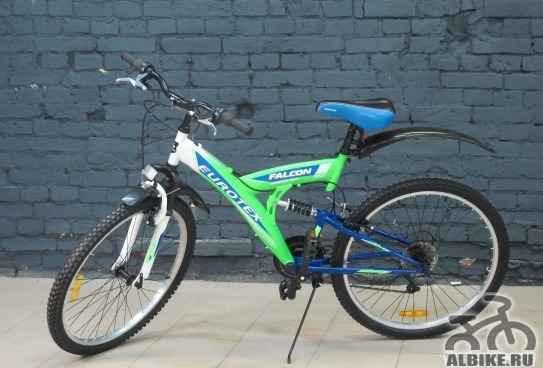 Новый велосипед, 21 скорость, двухподвес+ подарок