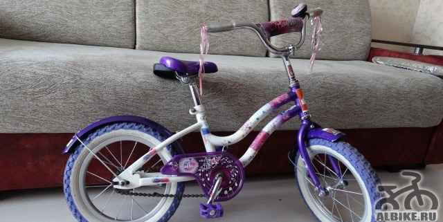 Детский девичий велосипед Навигатор Ранетки 12