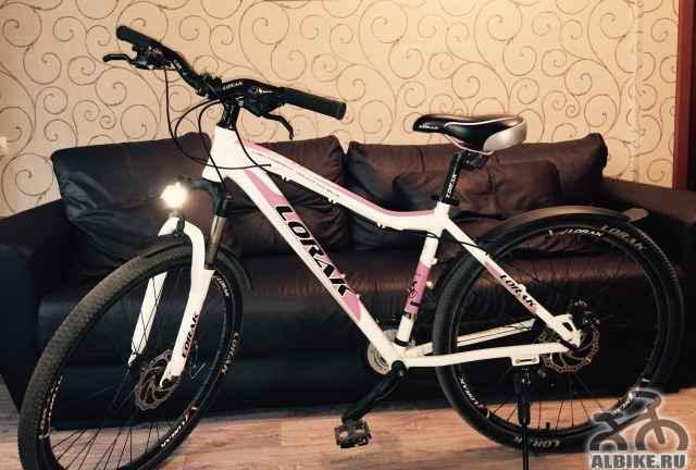Lorak glory 100 женский горный велосипед