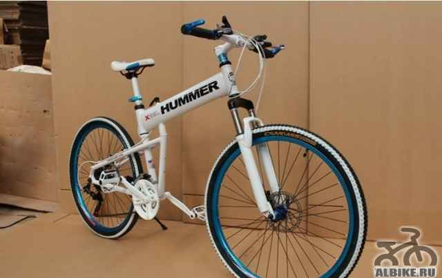 Велосипед Хамер новый с завода (складывается)