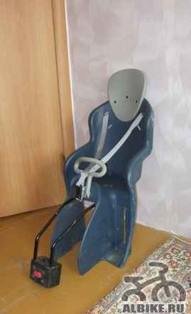 Детское велокресло б/у