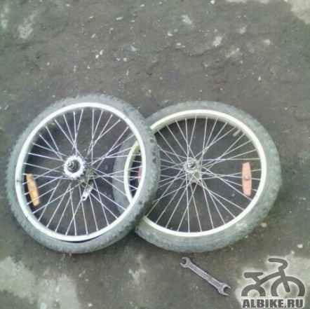 """2 колеса """"20 д"""""""