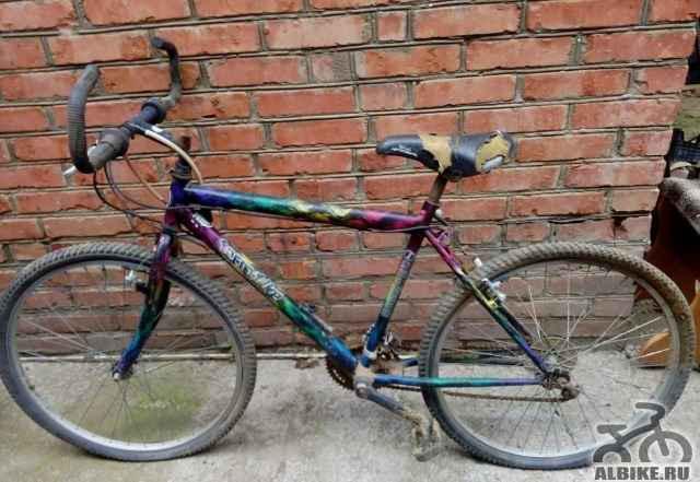 Велосипед на запчасти или под восстановление