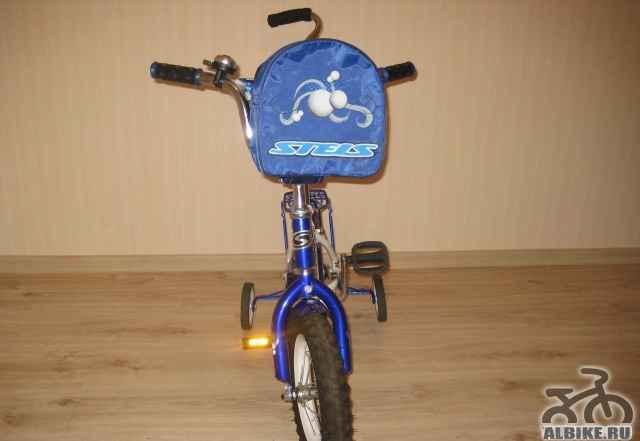Продается детский велосипед стелс Пилот 110