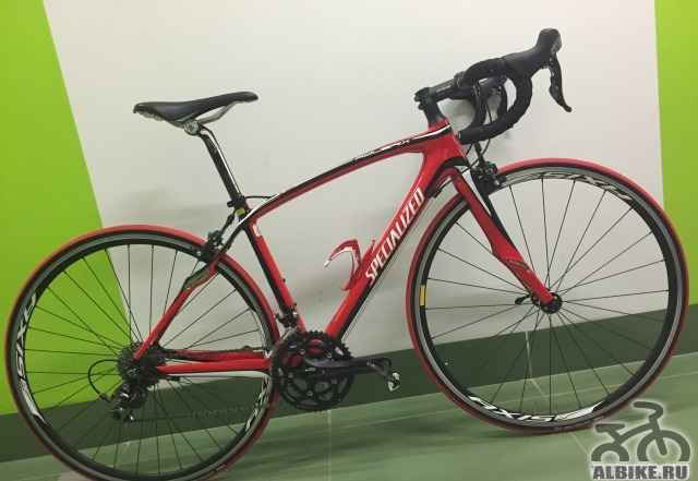 Шоссейный карбоновый велосипед Specialized рама XS