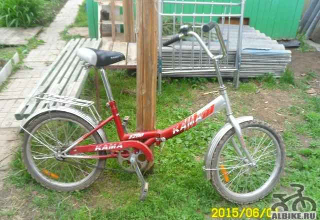 Складной велосипед б/у