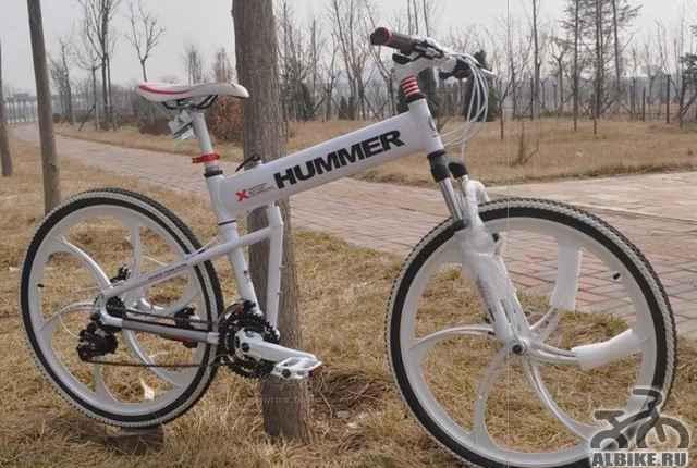 Хороший велосипед Хамер Q4 белый
