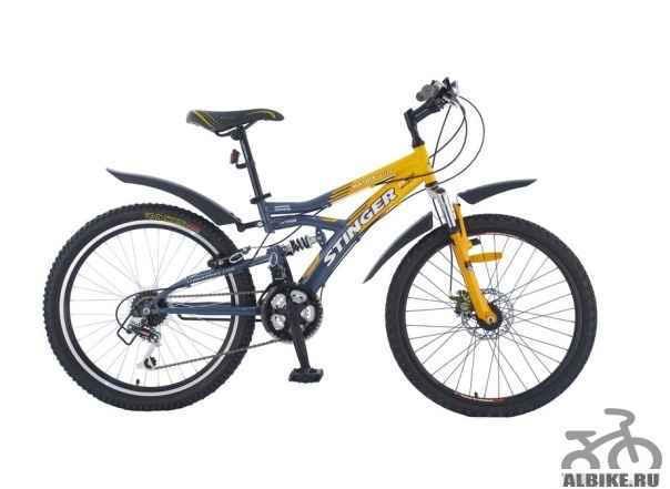 Велосипед горный Стингер Матрикс SX220D новый