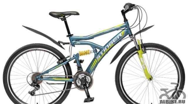 Горный велосипед Стингер Матрикс SX100 26 (2015)