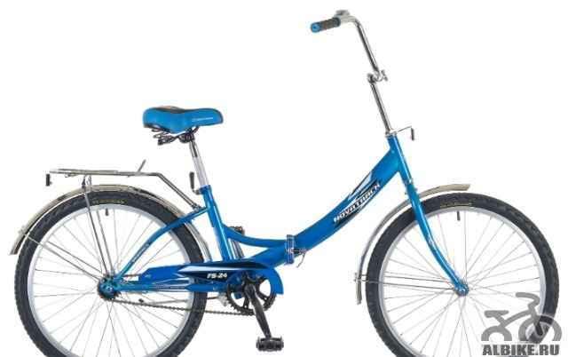 Велосипед складной novatrack FS-24