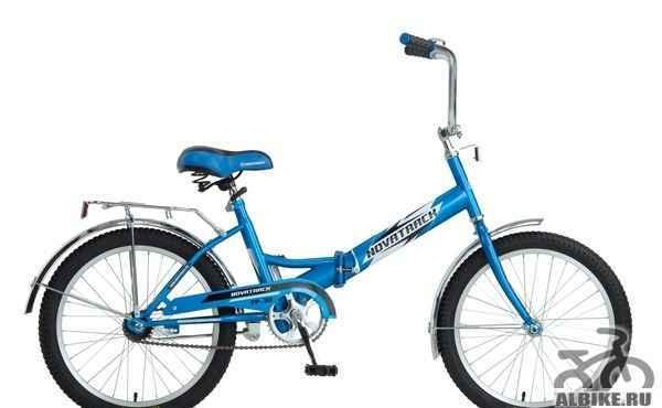 Велосипед складной подростковый novatrack FS-30