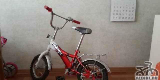 Велосипед детский мустанг б/у а отличном состоянии