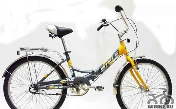 Стелс 730 складной велосипед колеса 24, 3 ск. б/у