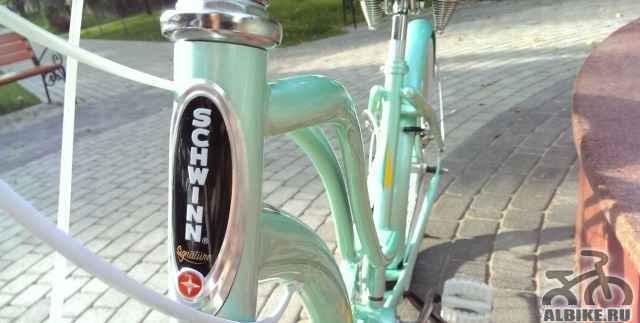 Новый женский велосипед Schwinn
