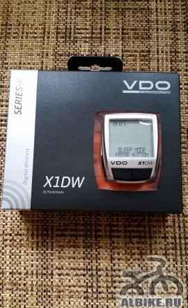 Велокомпьютер VDO X1DW + датчик каденса