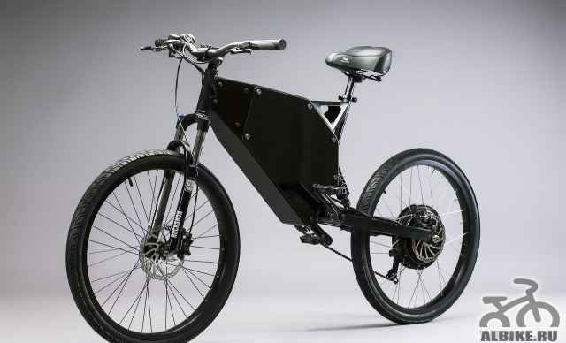 Электровелосипед на базе рамы чоботара