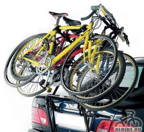 Крепление для перевозки 3-х велосипедов