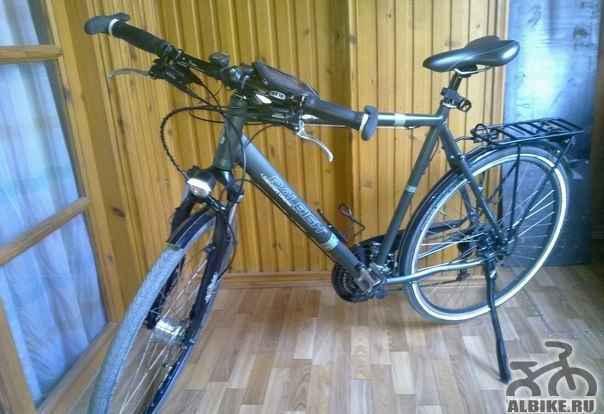 Шикарный велосипед raleigh на Deore