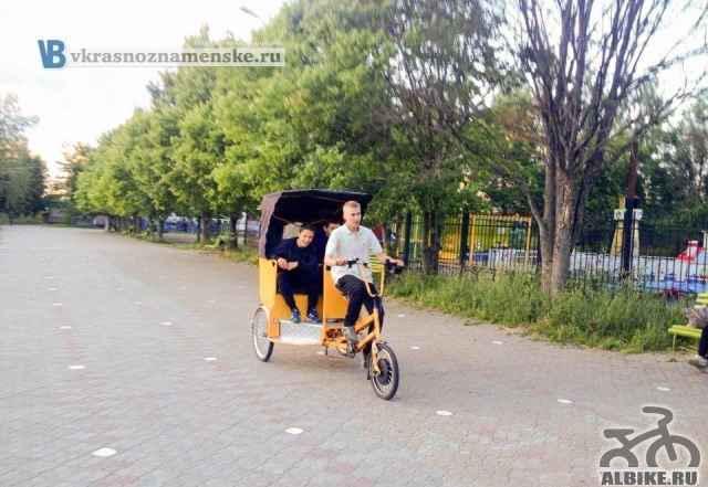 Велорикша с мотором колесом