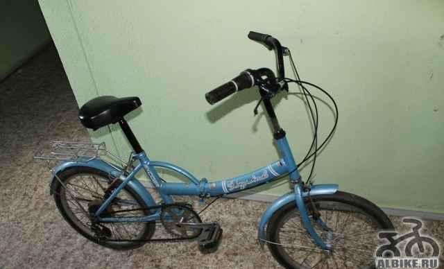 Складной корейский велосипед