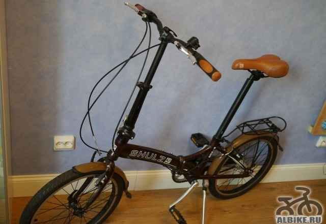 Складной велосипед Shulz Goa-3 coaster 2013