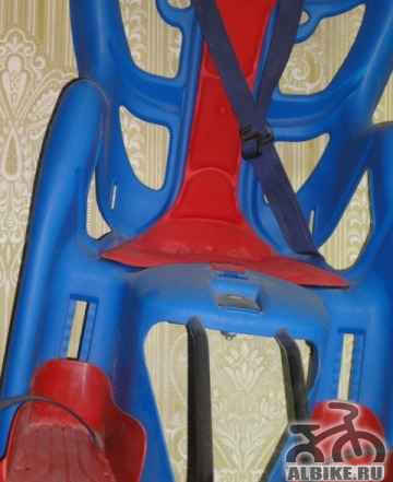Велокресло детское на багажник bellelli Pepe