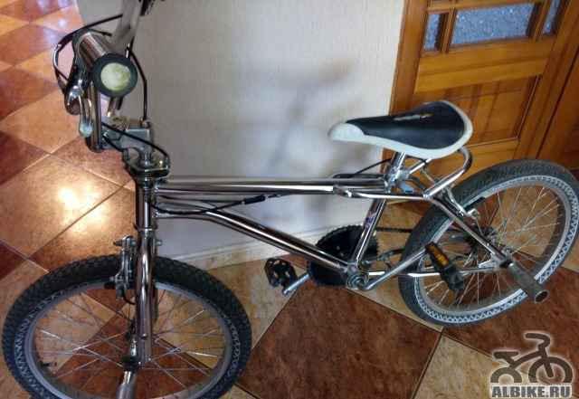 Велосипед никелированный вмх