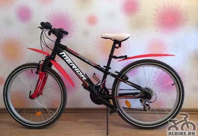 Велосипед Merida подростковый хардтейл на рост 120
