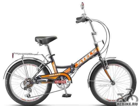Складной велосипед стелс Пилот 350