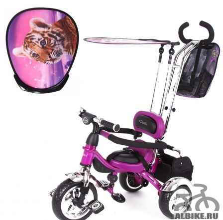Детский велосипед Капелла рейсер trike гранд purple