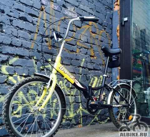 Велосипед дорожный, складной