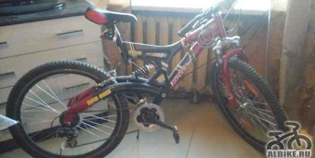 Продам велосипед почти не эксплуатировался