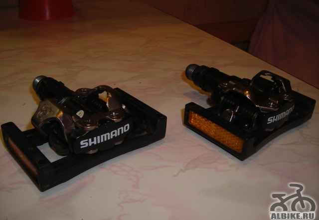 Контактные педали shimano spd