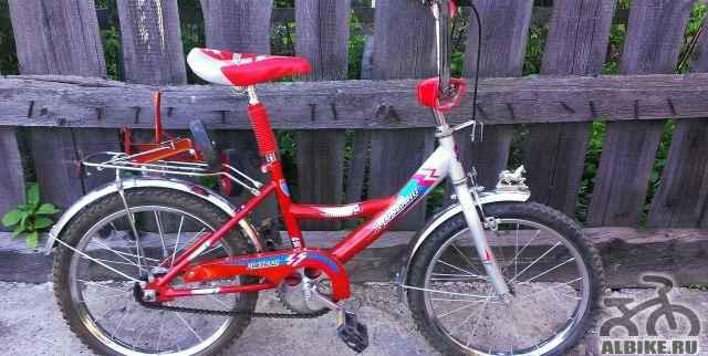 Детский подростковый велосипед мустанг