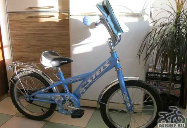 """Велосипед на возраст от 4 до 6 лет с колёсами 16"""""""