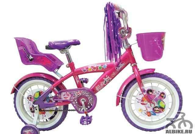 Велосипед для девочки - розовый