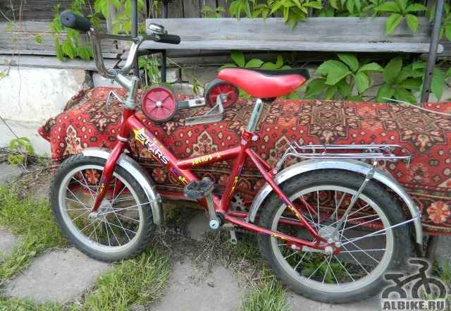 Детский велосипед stars sirius 2 от 5 до 9 лет