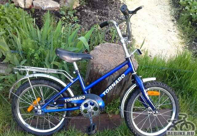 Продам детский велосипед Торнадо, 4х колесный
