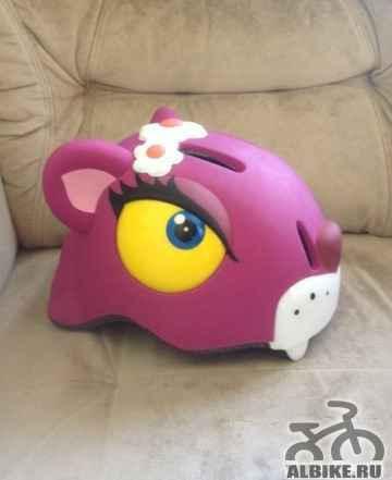 Детский велосипедный шлем новый