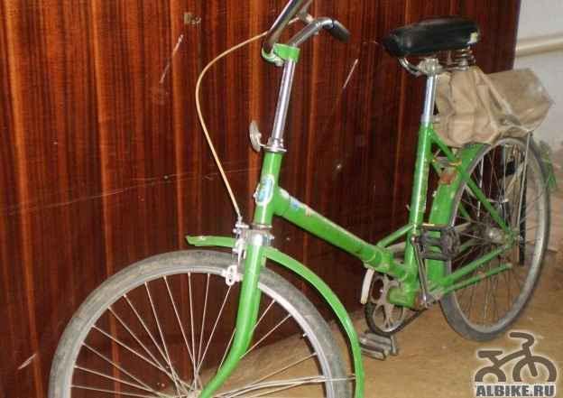 Складной велосипед Салют