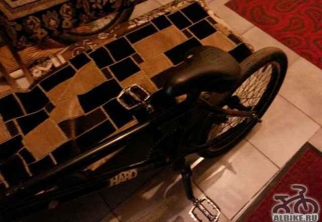BMX Haro (надо менять втулку заднего колеса)