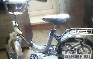 Велосипед в упаковке новый с 3 до 7 лет