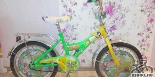 Детский велосипед для девочки 6-8 лет