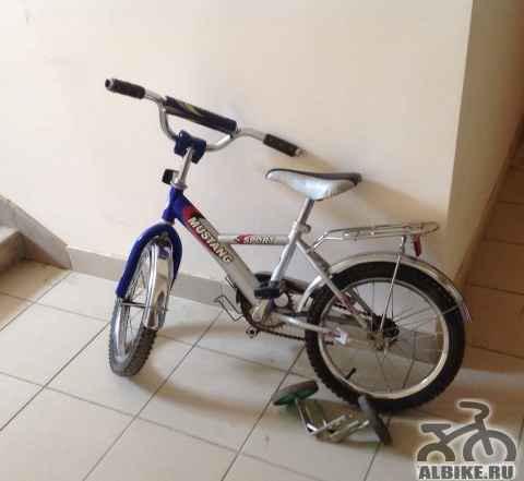 Детский велосипед мустанг спорт