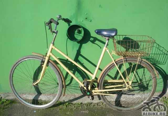 Дамский дорожный велосипед