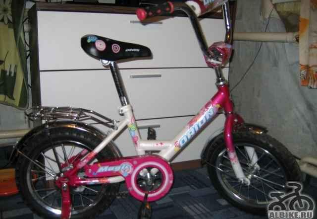 Детский велосипед орион с 2-х лет для девочки